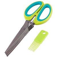 5 Blade Kitchen Scissor Herbs Scissor