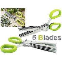 Herbs Kitchen Scissor with 5 blades