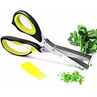 Multipurpose Herbs Kitchen Scissor with 5 blades