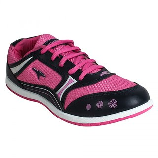 FUEL WOMEN 7201-02 BLACK PINK CASUAL SHOES