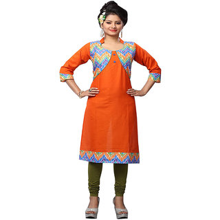 Minu Suits Coral Casual Floral Print Women's Kurti