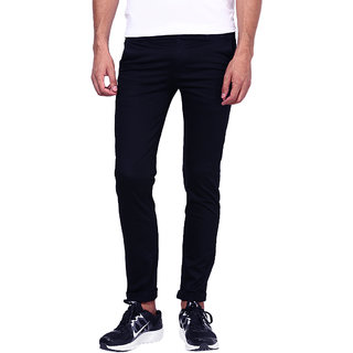 Inspire Blue Slim Fit Casual Chinos