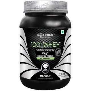 Six Pack Nutrtion - 100 Whey-1Kg-Vanilla