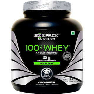Six Pack Nutrtion - 100 Whey-2Kg-Choco Caramel