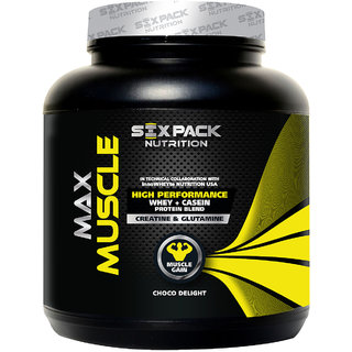 Six Pack Nutrtion - Max Muscle-2Kg-Banana