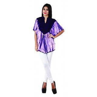 Famous by Payal Kapoor violet tunic