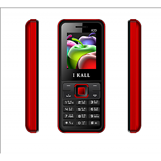 IKall K20 (1.8 Inch Dual Sim With FM Bluetooth Made in India)