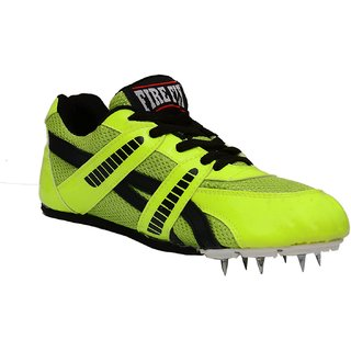 Firefly Men Green Lace-up Running Shoes