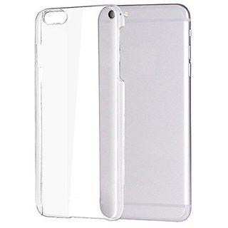 Colorcase Transparent Back Cover Case for Vivo V5 - (Red)