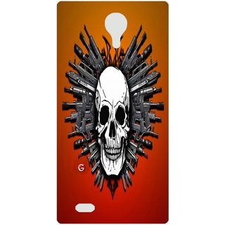 Amagav Back Case Cover for Lava A88 96LavaA88