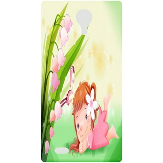 Amagav Back Case Cover for Lava A89 132LavaA89