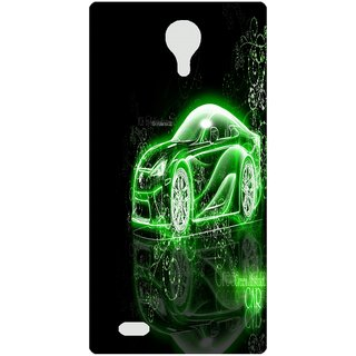 Amagav Back Case Cover for Lava A71 277LavaA71