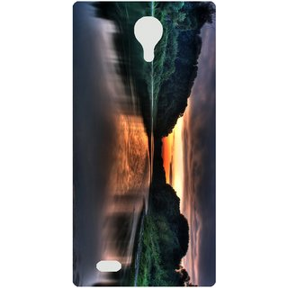 Amagav Back Case Cover for Lava A88 630LavaA88