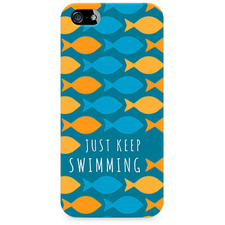 CopyCatz Just keep swimming Premium Printed Case For Apple iPhone 4/4s
