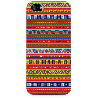 CopyCatz Ethnic Pattern Abstract Premium Printed Case For Apple iPhone 4/4s