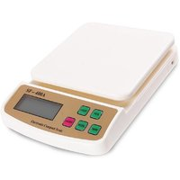 New Electronic Sf 400A 10kg with Battery Weighing Scale  (Off-White)