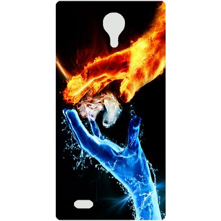 Amagav Back Case Cover for Lava A89 586LavaA89