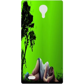 Amagav Back Case Cover for Lava A71 476LavaA71