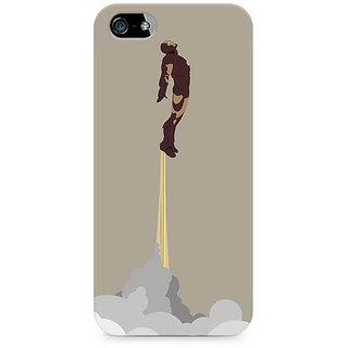 CopyCatz Flying Iron Man Premium Printed Case For Apple iPhone 4/4s