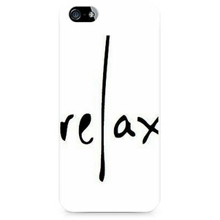 CopyCatz Relax Premium Printed Case For Apple iPhone 5/5s