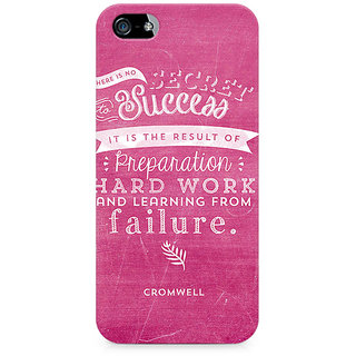 CopyCatz Secret to Success Premium Printed Case For Apple iPhone 5/5s