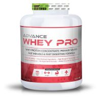 Advance Whey Pro Protein 2 Kg (4.4Lbs) Vanilla Flavour, Enzymes