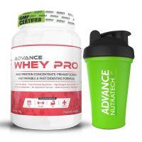 Advance Whey Pro Protein (2.2Lbs) 1 Kg Vanilla + Free Shaker