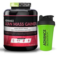 Advance Lean Mass Gainer 3 Kg (6.6Lbs) Chocolate + Free Shaker