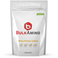 Bulkamino Whey Protein Isolate 4 Kg Unflavored + Gym Bag + Free Shaker