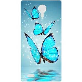 Amagav Back Case Cover for Lava A71 397LavaA71