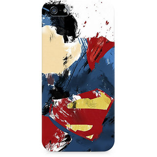 CopyCatz Superman Abstract Premium Printed Case For Apple iPhone 4/4s
