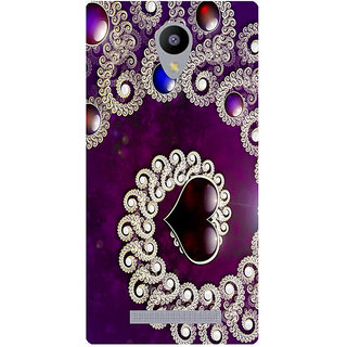 Amagav Printed Back Case Cover for Lyf Flame 5