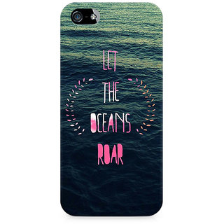 CopyCatz Let the Oceans Roar Premium Printed Case For Apple iPhone 5/5s