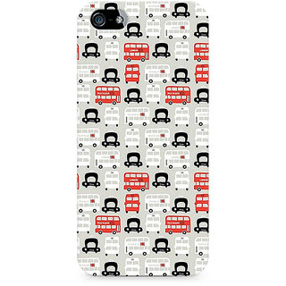 CopyCatz London Cab and Bus Premium Printed Case For Apple iPhone 5/5s