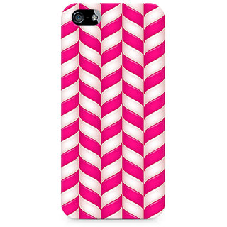 CopyCatz Candy Strips Premium Printed Case For Apple iPhone 4/4s