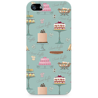 CopyCatz Sweet Buffet Premium Printed Case For Apple iPhone 4/4s