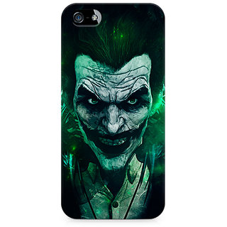 CopyCatz Joker Green Premium Printed Case For Apple iPhone 4/4s