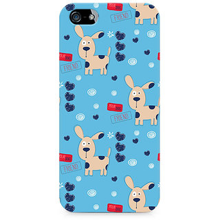 CopyCatz Your Dog friend Premium Printed Case For Apple iPhone 5/5s