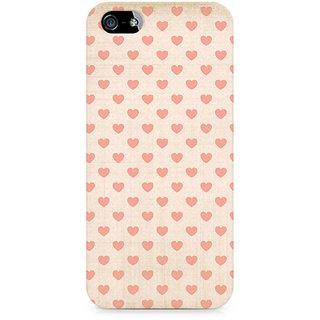 CopyCatz Vintage Heart Premium Printed Case For Apple iPhone 4/4s