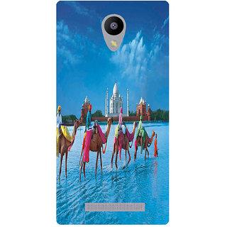 Amagav Printed Back Case Cover for Lyf Wind 3