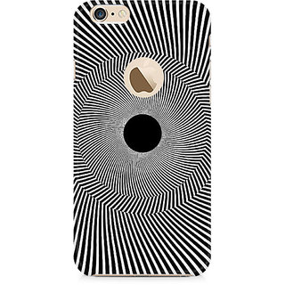 CopyCatz Black Hole Illusion Premium Printed Case For Apple iPhone 6/6s with hole