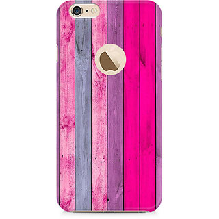 CopyCatz Pink Wood Shade Premium Printed Case For Apple iPhone 6/6s with hole
