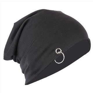 Cap For Men - Black Beanie Cap