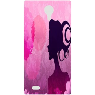 Amagav Back Case Cover for Micromax Canvas Fire 3 Q375 109-MmQ375