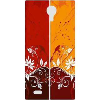 Amagav Back Case Cover for Micromax Canvas Fire 3 Q375 427-MmQ375