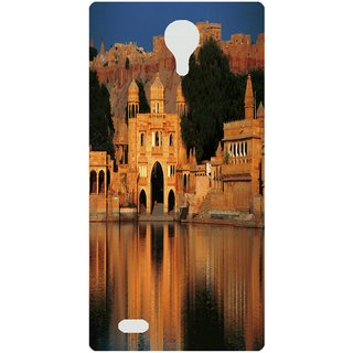 Amagav Back Case Cover for Micromax Canvas Fire 3 Q375 255-MmQ375