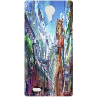 Amagav Back Case Cover for Lava X81 52--LavaX81