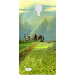 Amagav Back Case Cover for Lava X81 147--LavaX81