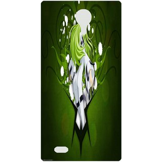Amagav Back Case Cover for Lava X81 411--LavaX81