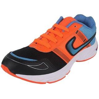 Chevit Mens orange casual shoes